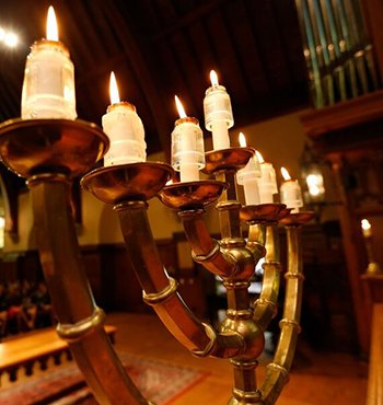 Menorah at Phillips Exeter Academy
