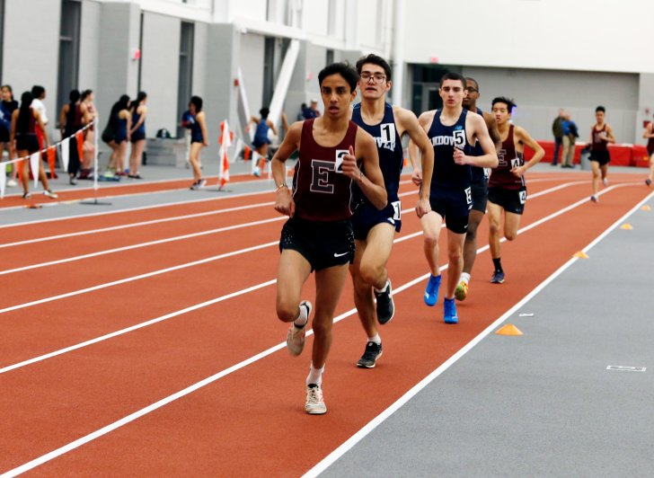 Phillips Exeter Academy Track Varun Oberai