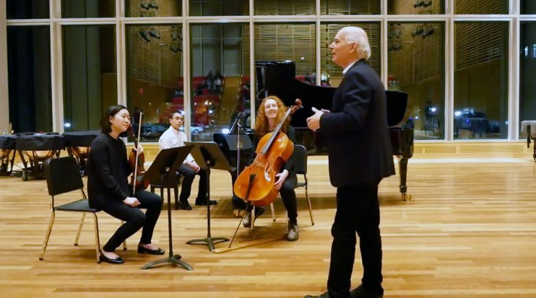 Fine Arts Quartet Master Class at Phillips Exeter Academy